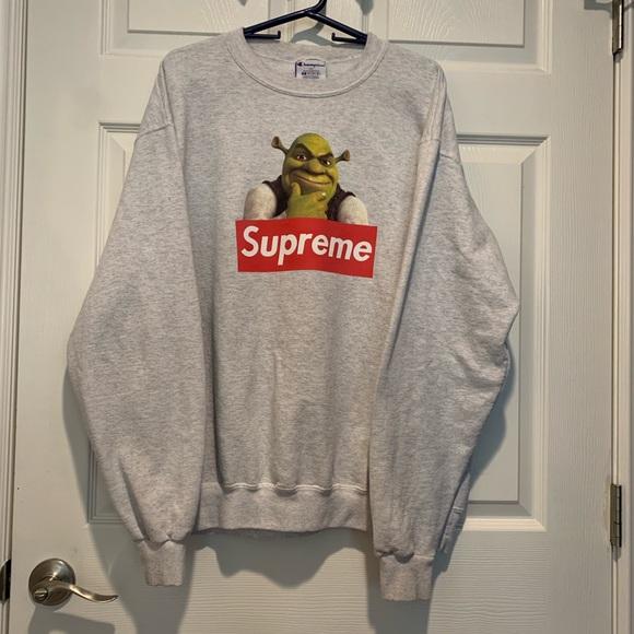 03deb3af348e Champion Shirts | Shrek Supreme Sweatshirt | Poshmark